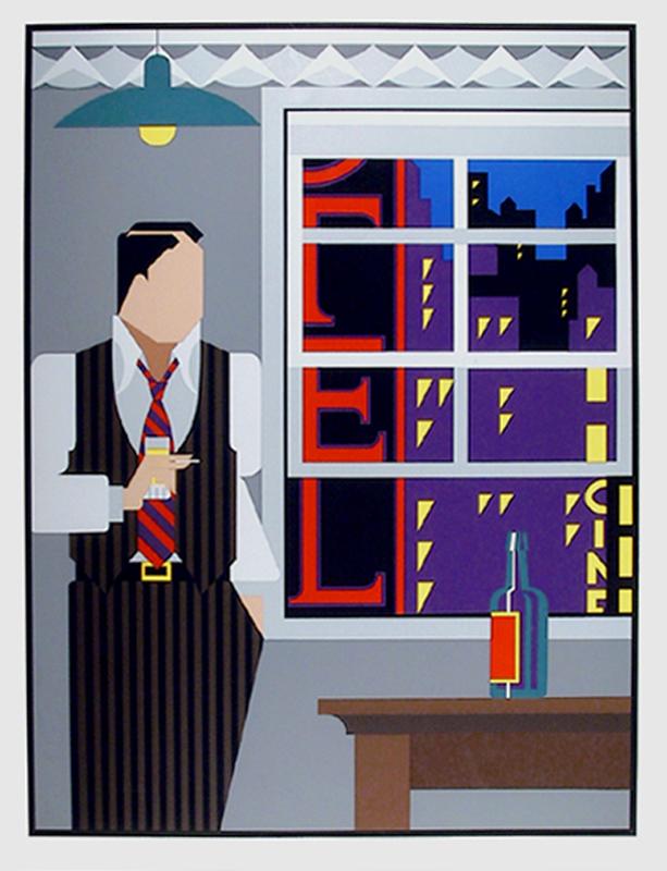 Giancarlo Impiglia, Traveling Salesman, Serigraph
