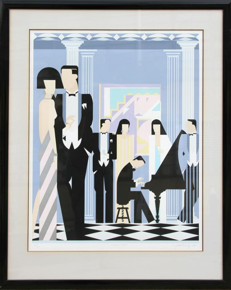 Giancarlo Impiglia Another Party, Serigraph