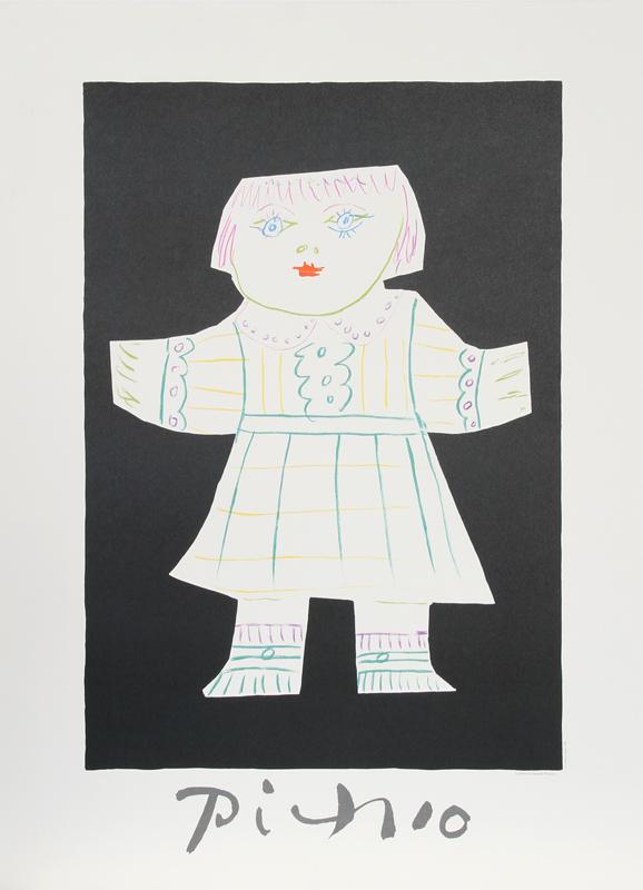 Pablo Picasso, Une Poupee Decoupee, Lithograph