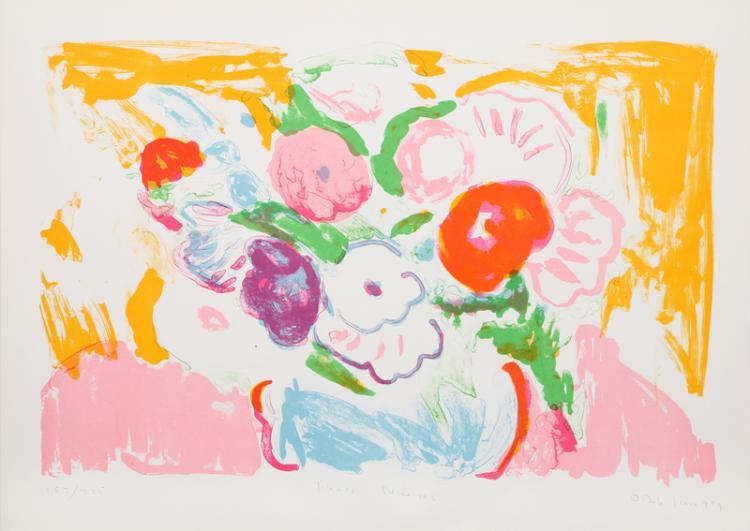 Bob Kane, Fleurs Nicoises, Lithograph