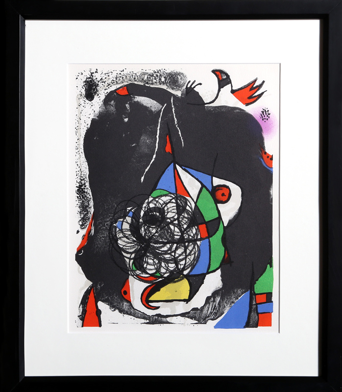 Joan Miro, Les Revolutions Sceniques du XXe Siecle - II (Cramer 207), Lithograph