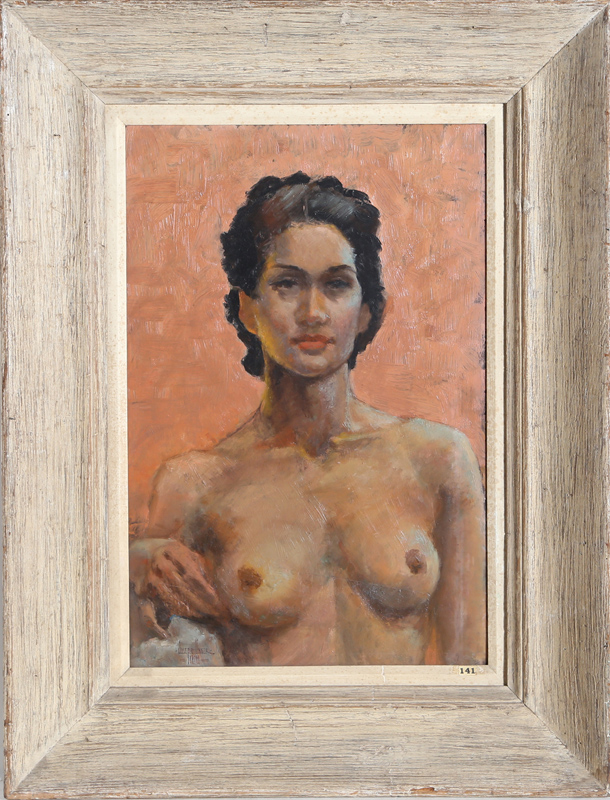 Joseph Unser, Untitled (Nude), Oil Painting