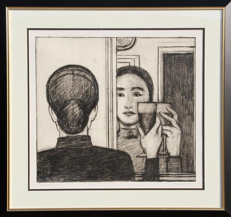 Will Barnet, Between Life and Life, Lithograph