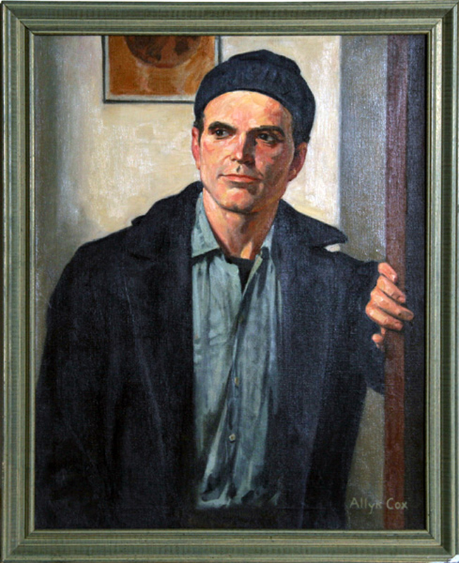 Allyn Cox, Portrait of a Young Man, Oil Painting