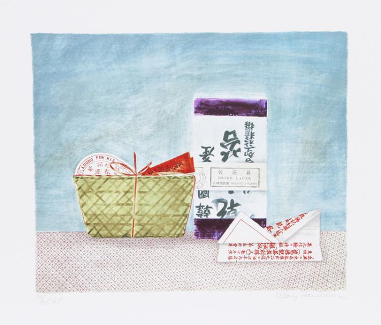 Mary Faulconer, China Tea Laver, Lithograph