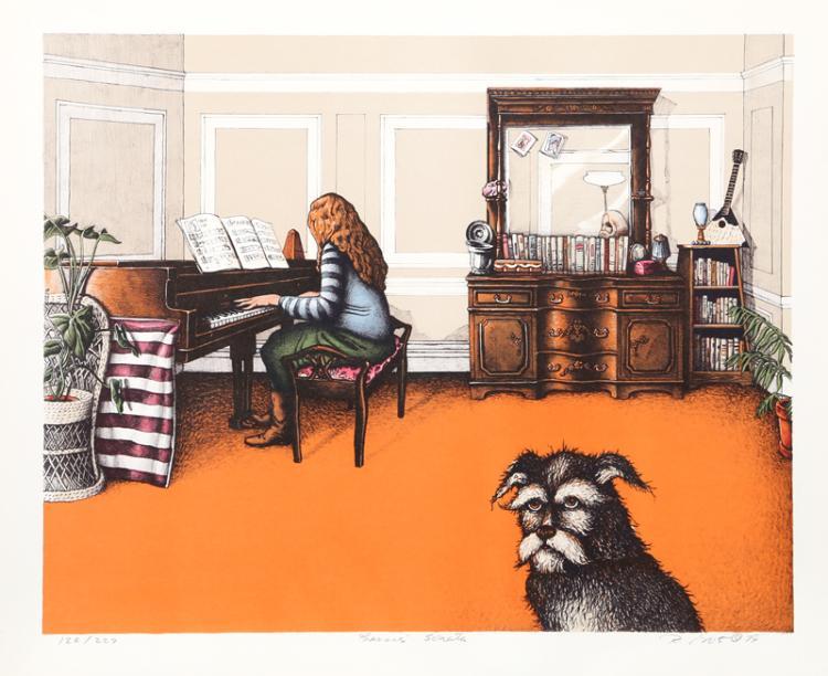 R. Grote, Bessi's Sonata, Lithograph