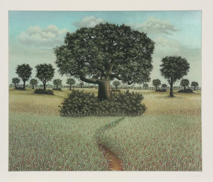 Milan Generalic, Tree, Serigraph