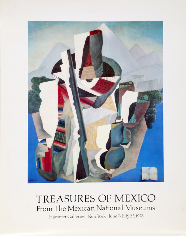 Diego Rivera, Treasures of Mexico, Poster