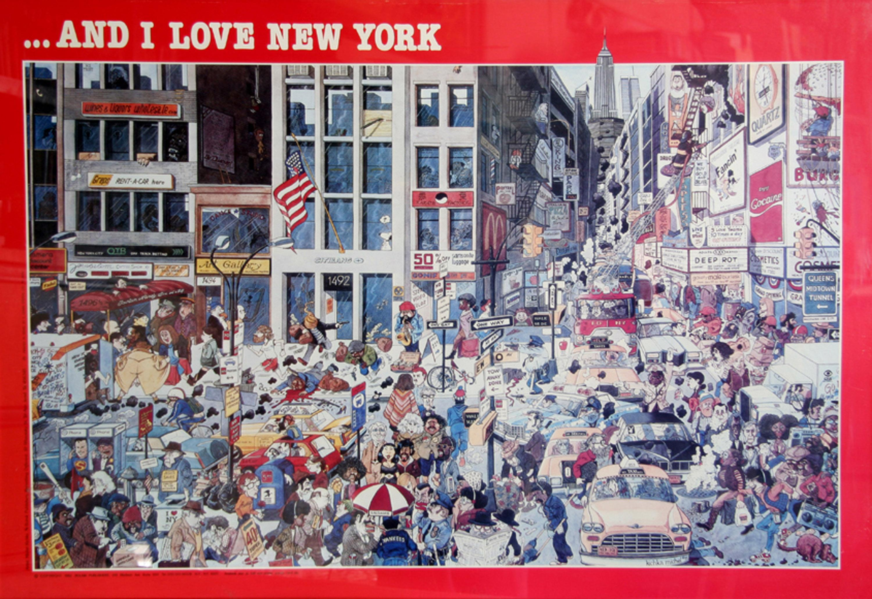 Michel Kichka, ....And I Love New York, Poster