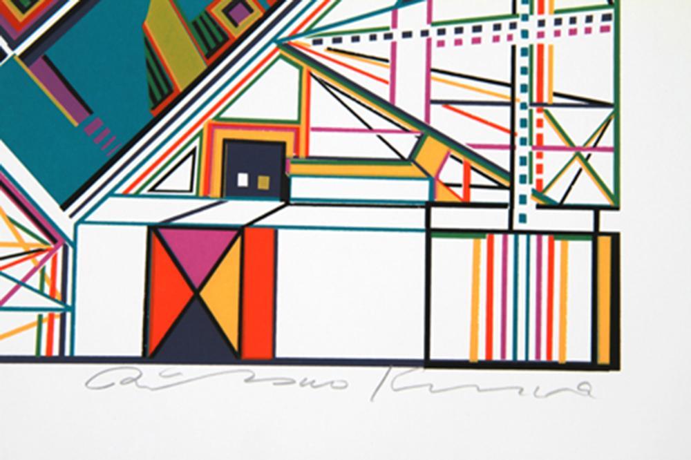 Risaburo Kimura, City 363, Screenprint