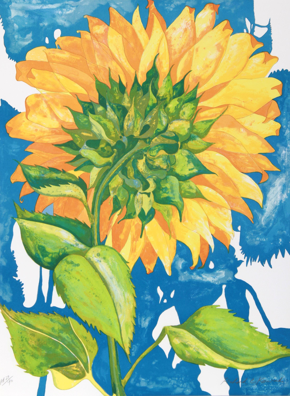 Richard C. Karwoski, Sunflower #1, Lithograph