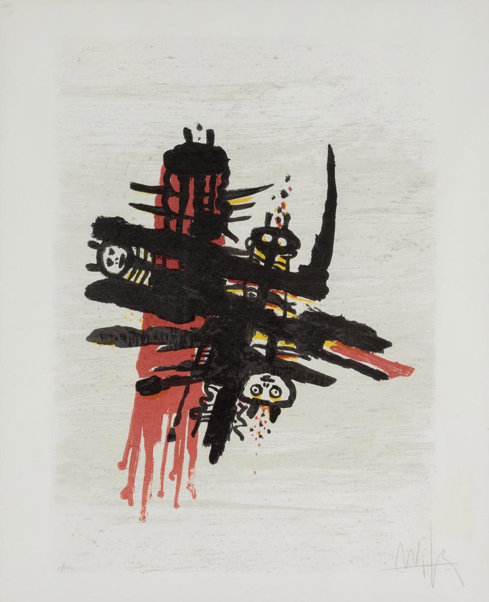 Wifredo Lam, Orsa Maggiore, Lithograph