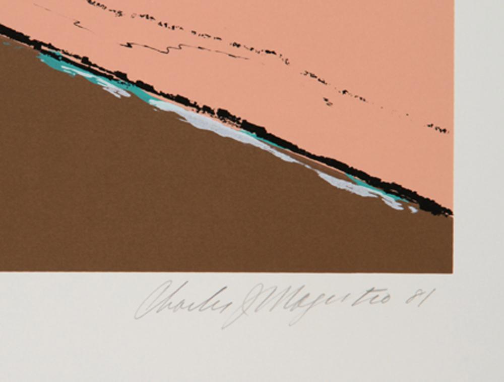 Charles Magistro, Scuttle Hole, Screenprint