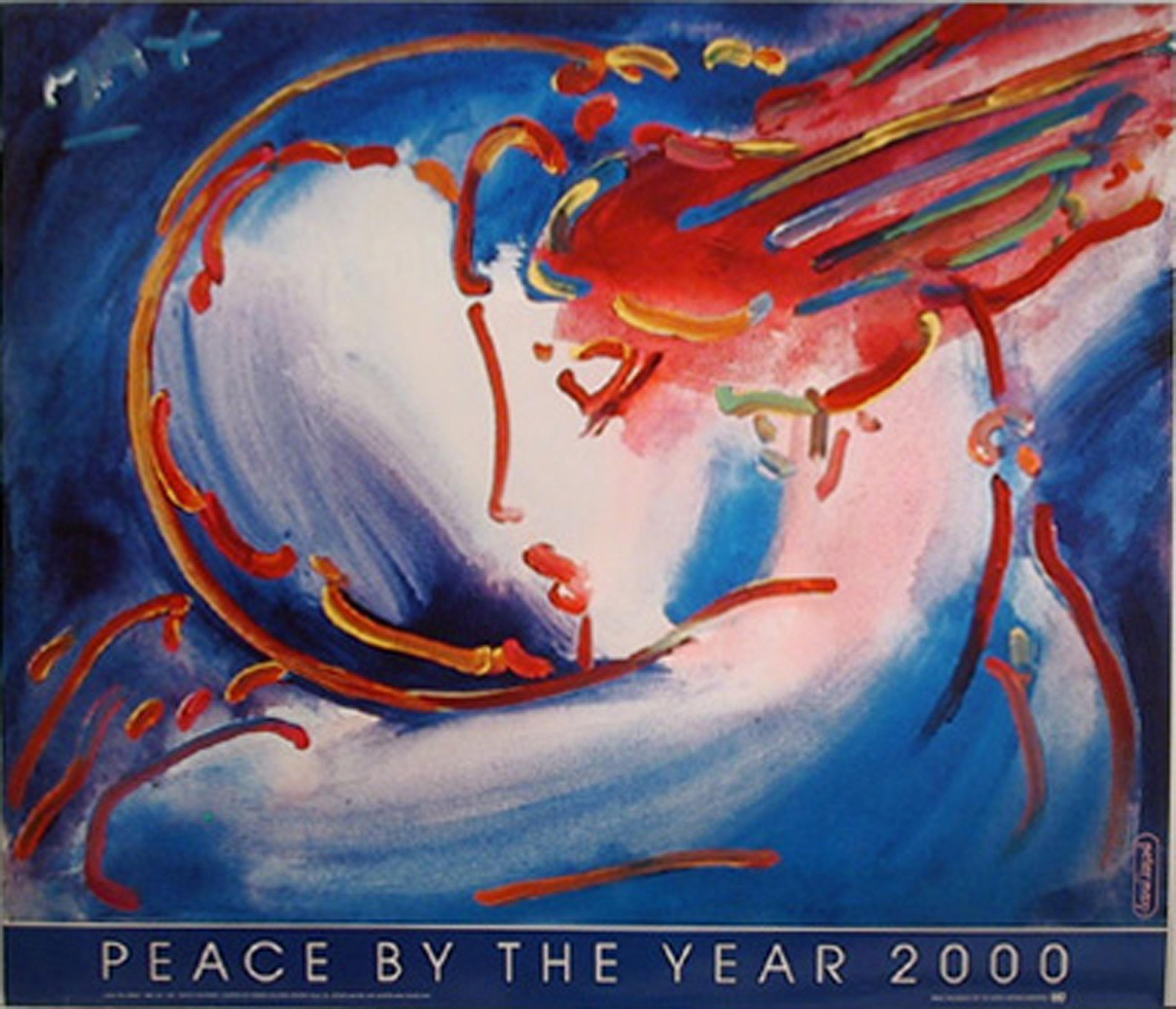 Peter Max, Peace by the Year 2000, Poster