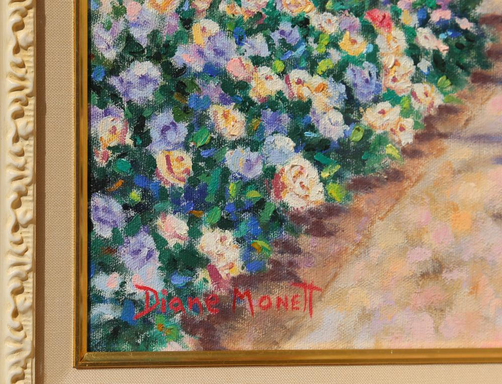 Diane Monet, Place to Dream, Oil Painting