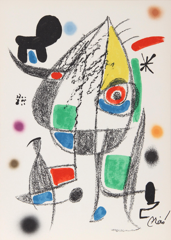 Joan Miro, Maravillas con Variaciones Acrosticas (No. 22), Lithograph