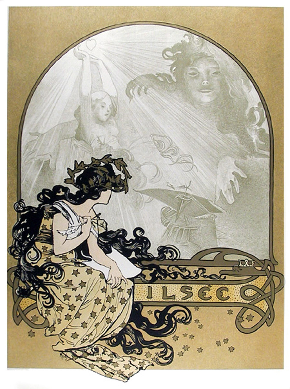 Alphonse Mucha, Ilsee, 23, Lithograph Poster