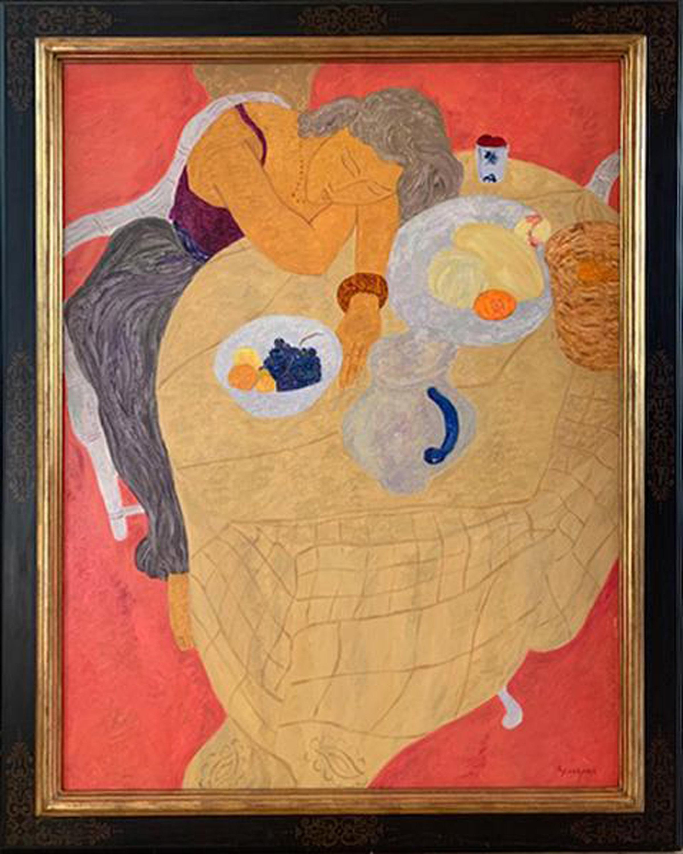 Pierre Boncompain, Assoupissement (Drowsiness), Oil Painting