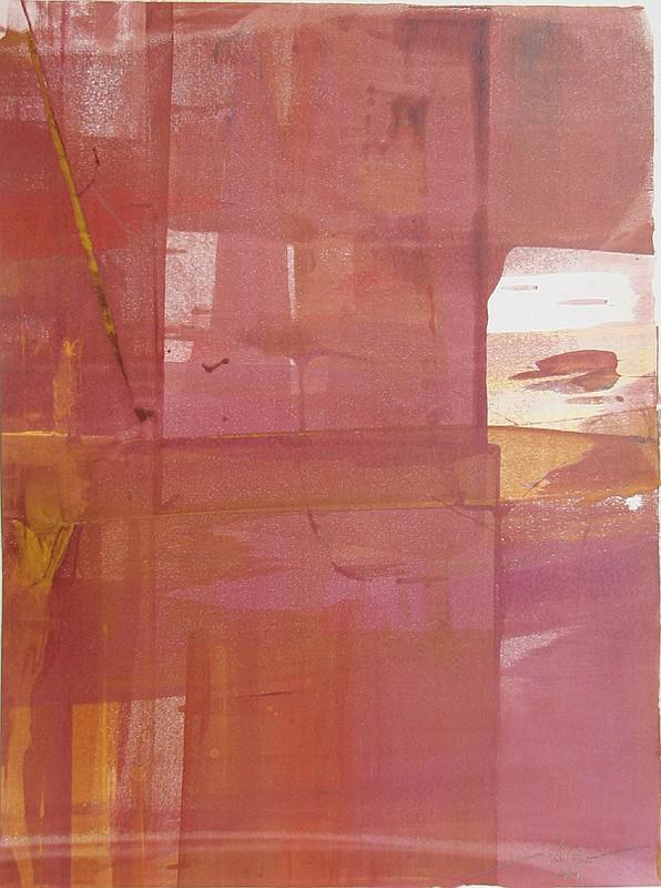 Liu Jian, Abstract CI, Monoprint
