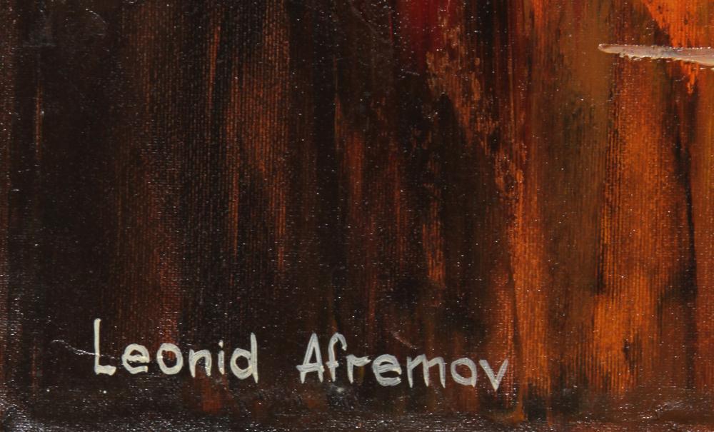 Leonid Afremov, Pas de Deux, Oil Painting