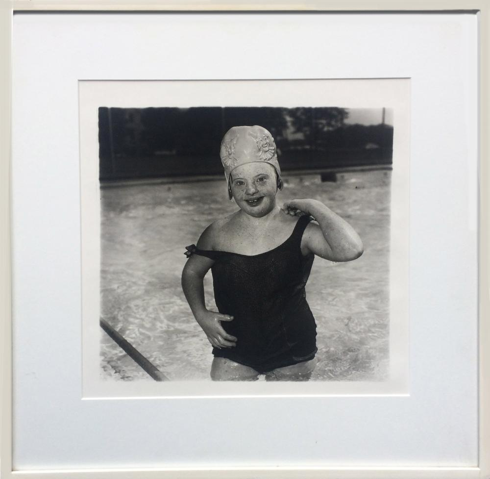 Diane Arbus, Girl in Swimming Cap (11), Photograph