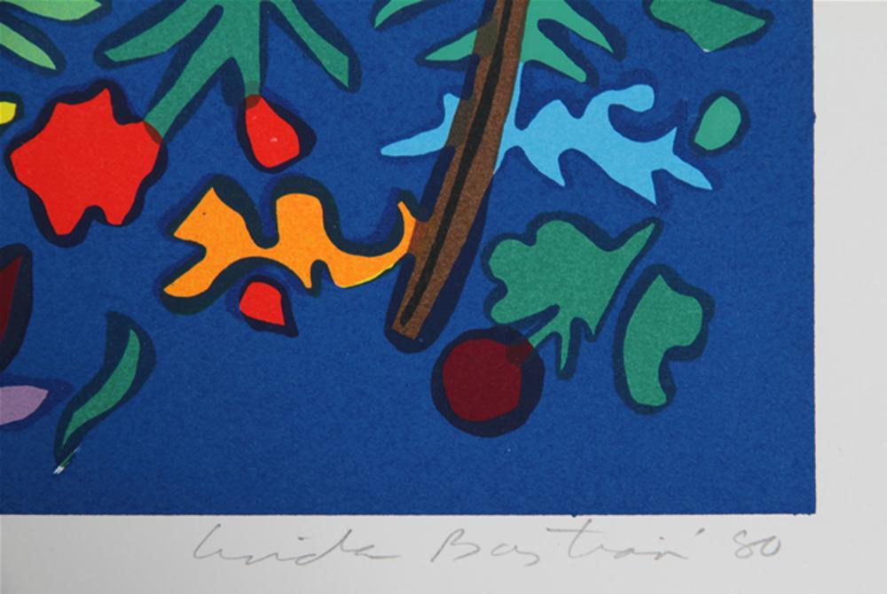 Linda Bastian, Nine Birds, Lithograph