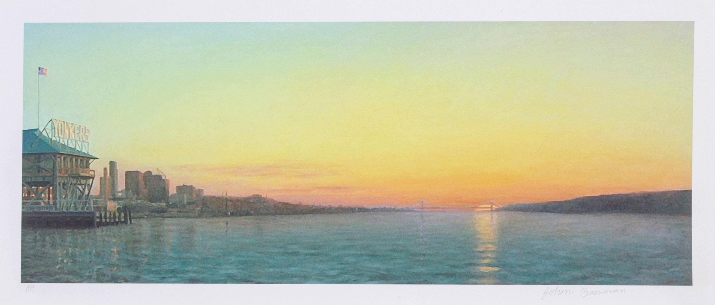 John Beerman, Yonkers Waterfront, Giclee