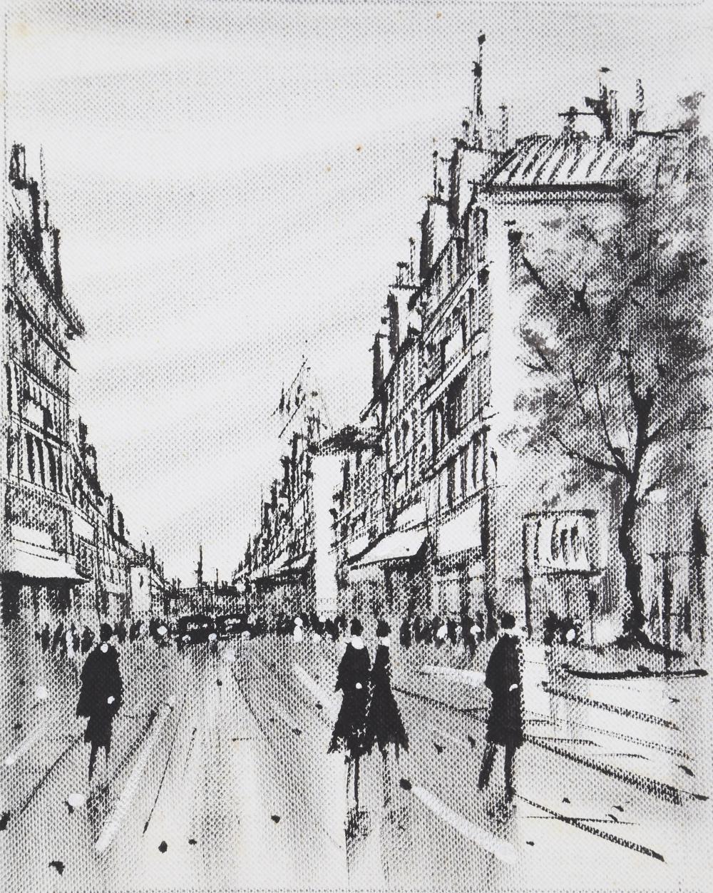 Barnet, City 8, Oil Painting
