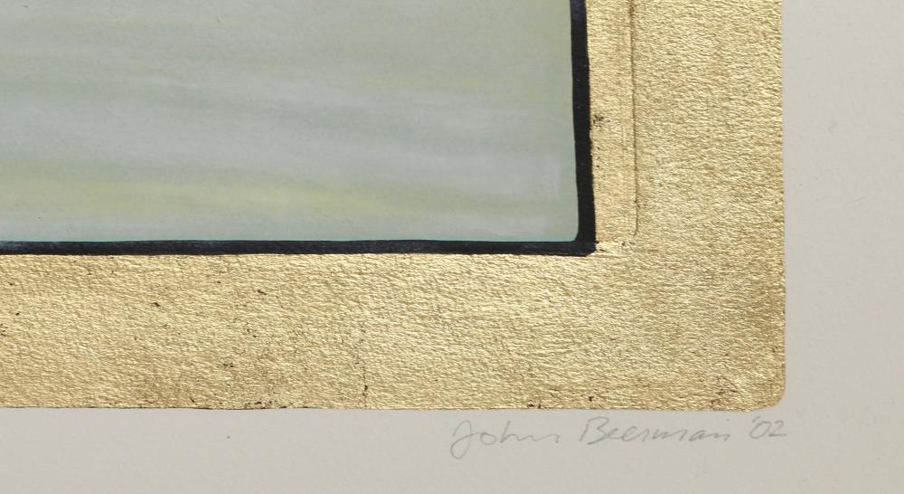 John Beerman, Snow, Hand-Colored Etching