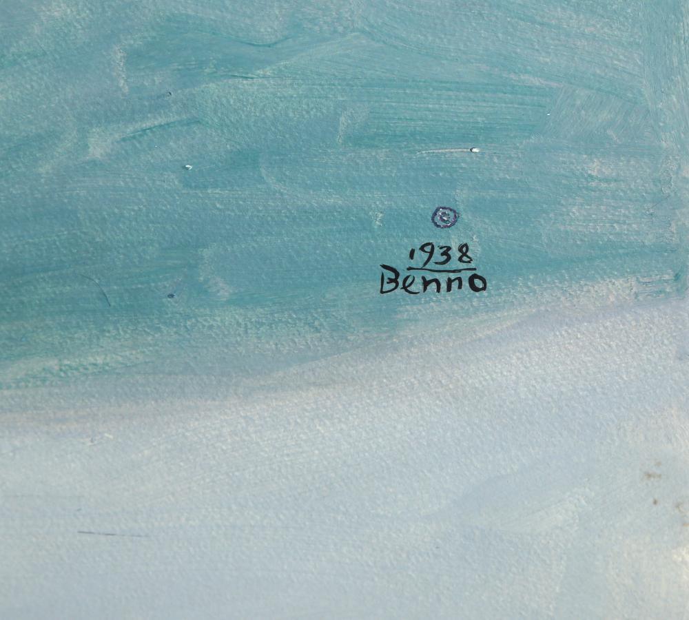 Benjamin Benno, Untitled 16, Oil Painting