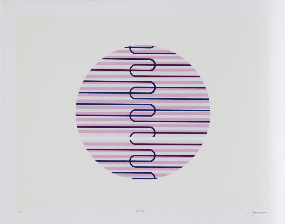 Rafael Bogarin, Jupiter 4, Serigraph