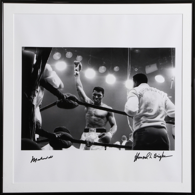 Howard L. Bingham, Ali vs. Liston II, 1965, Autographed Photograph