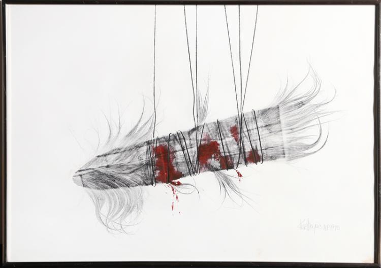 Joseph Kurhajec, Untitled, Etching