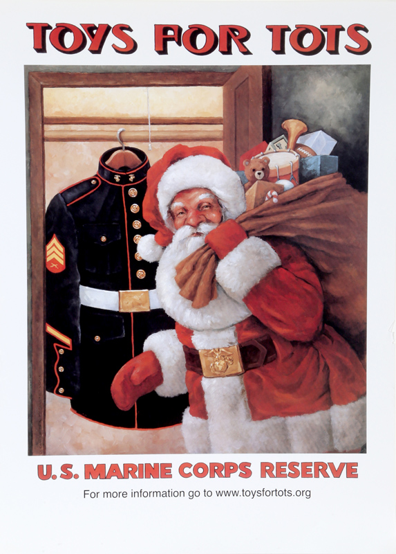 Toys 4 Tots Posters : Keith mcconnell toys for tots poster
