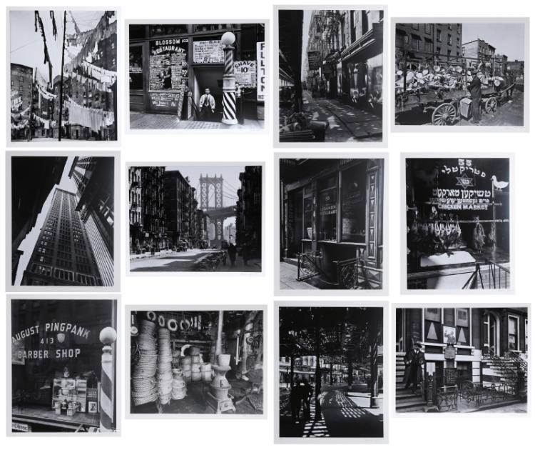 Berenice Abbott, New York IV, Portfolio of 12 Gelatin Silver Photograph