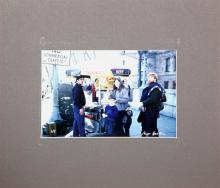 Max Epstein, Hot Dog Cart, C-Print  Photograph