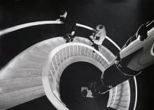 Donal Holway, Untitled - Spiral Staircase, Gelatin Silver Print Photograph