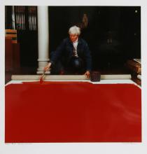 Curtis Knapp, Andy Warhol Red Series 2, Color Photograph