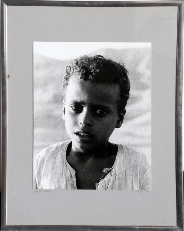 Portrait of a Boy, Gelatin Silver Print Photograph (unsigned)