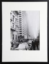 John F. Kennedy Parade, Gelatin Silver Print Photograph
