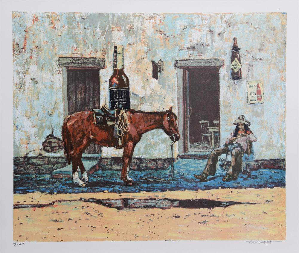 NOEL DAGGETT, ROLL YOUR OWN, LITHOGRAPH
