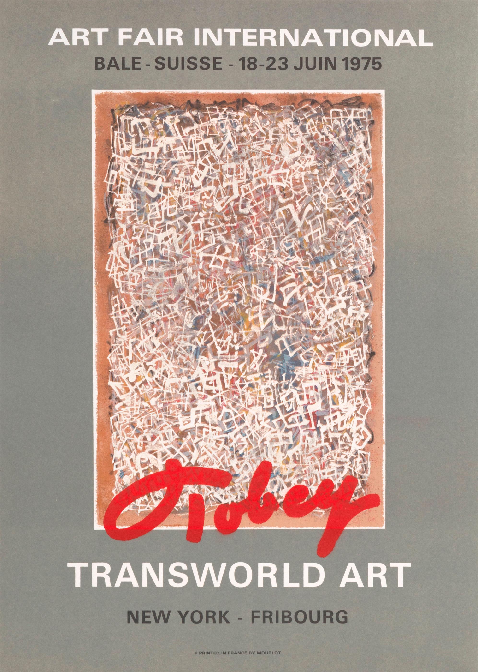 MARK TOBEY, ART FAIR INTERNATIONAL , OFFSET LITHOGRAPH