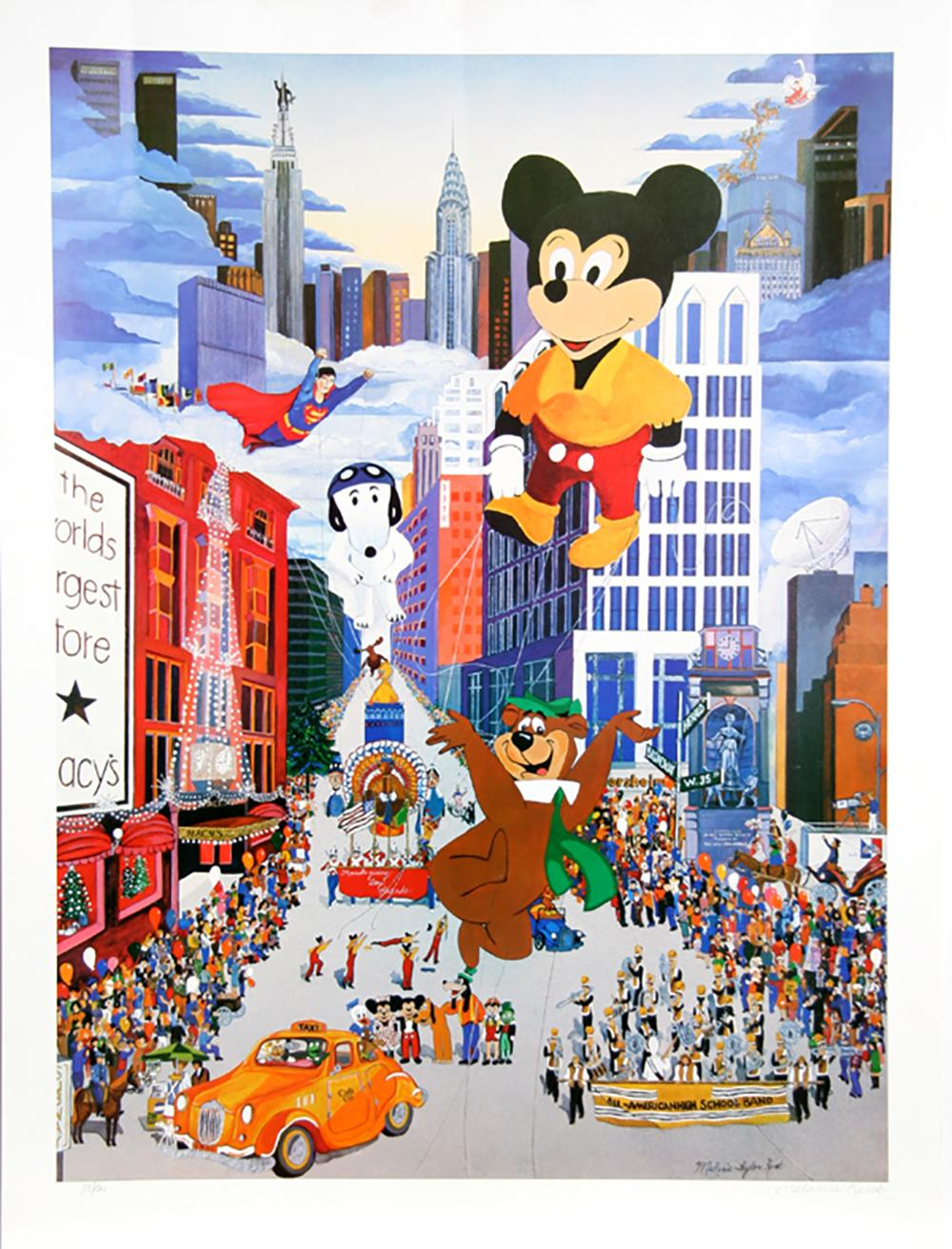 MELANIE TAYLOR KENT, THANKSGIVING DAY PARADE, POSTER