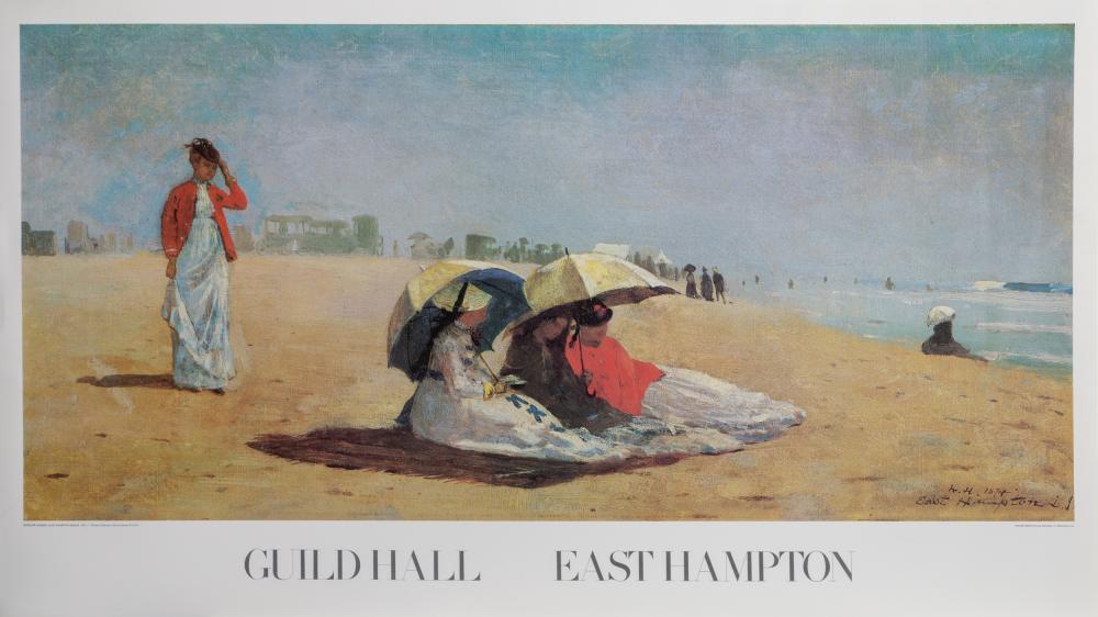 Winslow Homer, Guild Hall - East Hampton Beach, Poster