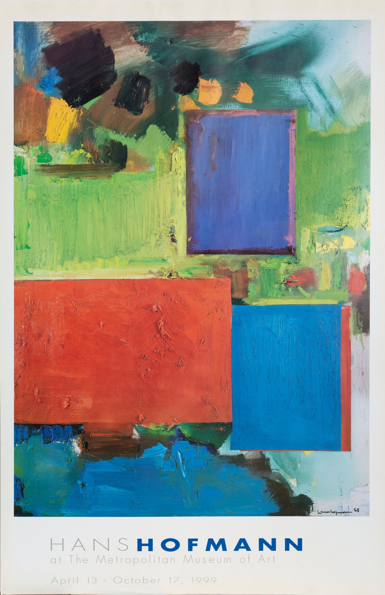 Hans Hofmann, Rhapsody - The Metropolitan Museum of Art, Poster