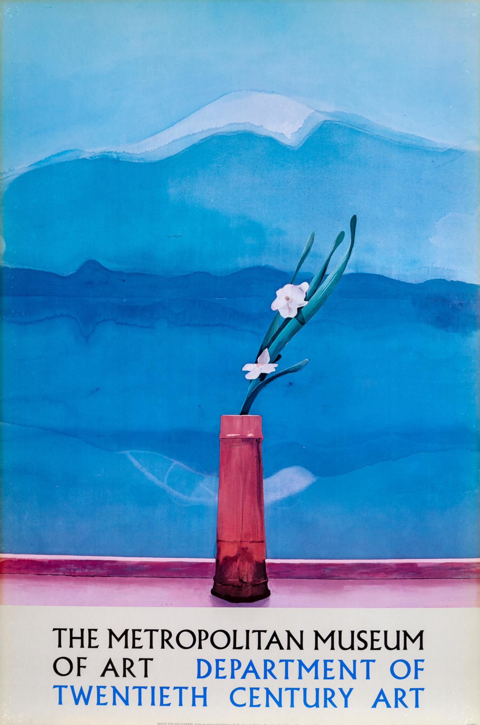 David Hockney, The Metropolitan Museum of Art: David Hockney, Poster