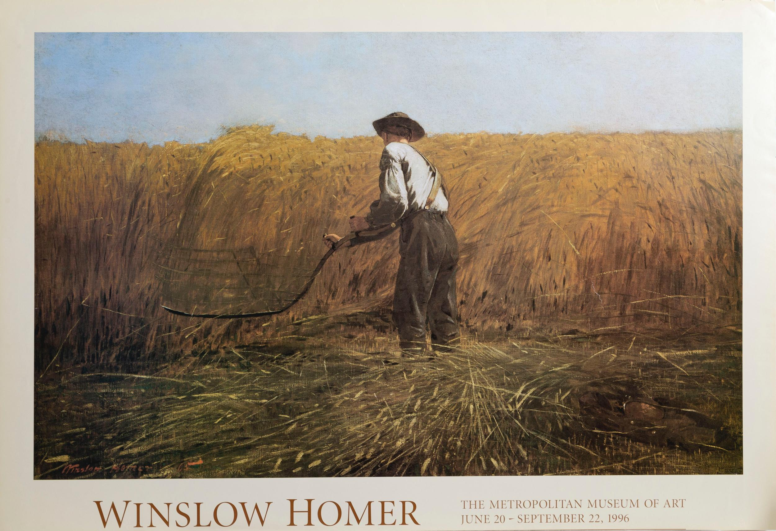 Winslow Homer, The Veteran in a New Field, Poster