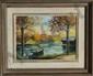Andre Franchet, L'Essone en Automne, Oil Painting, Andre Franchet, Click for value