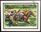 Harry Schaare, The Finish Line, Serigraph, Harry J Schaare, Click for value