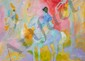 Isabel Gamerov, Riding in the Park, Oil Painting, Isabel Gamerov, Click for value